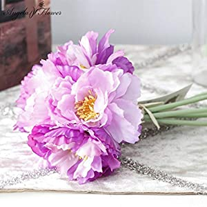 ShineBear Beautiful one Bouquet Artificial Rosemary Flower Home Table Decoration Flower Bridal Bouquet Wedding Flower Photo Backgrounds – (Color: Purple)