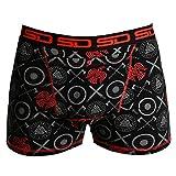 Smuggling Duds Men's Stash Boxer Brief Shorts - Pickpocket Proof Travel Secret Pocket Underwear Viking Large