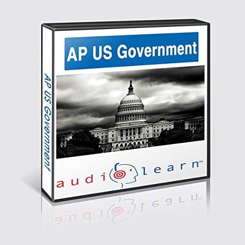 AP US Government Test AudioLearn Study Guide audiobook cover art