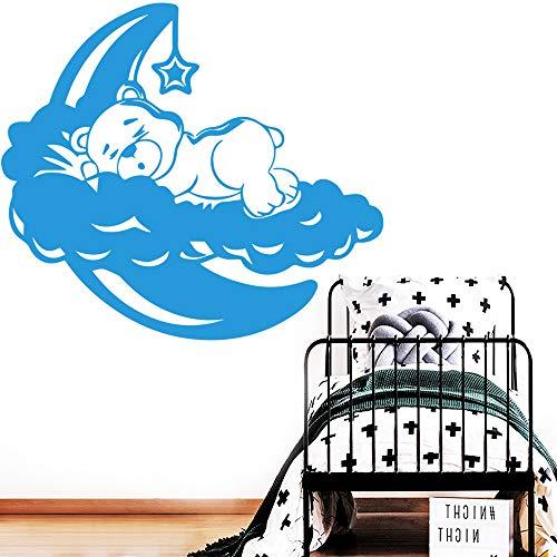 Sticker mural Winnie l'ourson Charmante murale Winnie l'ourson pour chambre de bébé