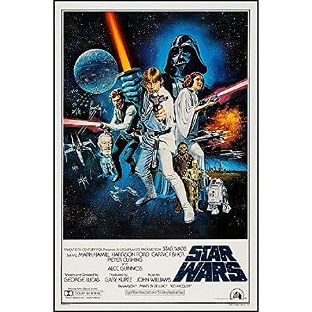 映画ポスター スターウォーズ 4 STAR WARS 4 新たなる希望 24×36inc (61×91.5cm) US版 of2 [並行輸入品]