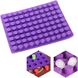 88 small round cavities small cheesecake molds silicone cake for bread for cakes, chocolate, jelly and candy