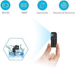 Camara Espia Oculta Sumergible, NIYPS 1080P HD Mini Camaras de Vigilancia Portátil Secreta Compacta con Sensor Movimiento y IR Visión Nocturna, Camara Seguridad Pequeña Exterior/Interior
