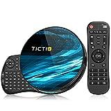 TICTID Android 10.0 TV Box T8 MAX【4G+128G】con Mini Teclado inalámbirco con touchpad RK3318...