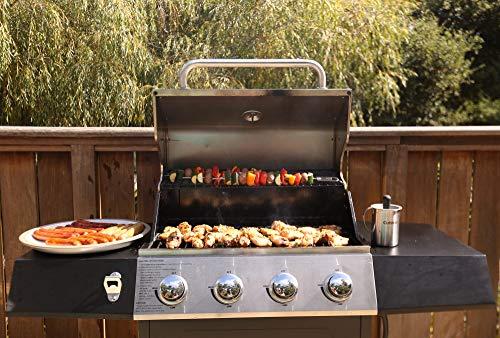 Cuisinart CGG-7400 Propane, 54 Inch, Full Size Four-Burner Gas Grill
