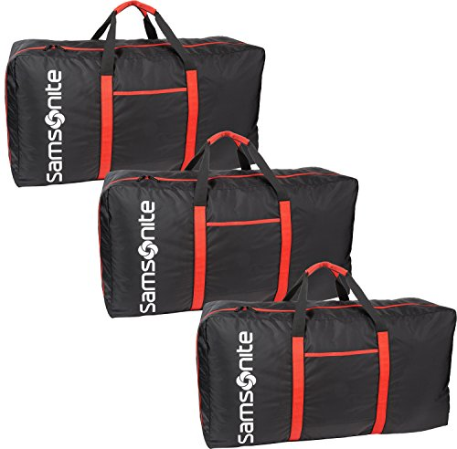 Samsonite Tote-a-ton 33 Inch Duffle Luggage Boxed (3 Pack, Black)