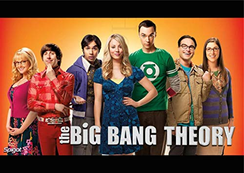 linbindeshoop The Big Bang Theory Poster Movie Wall Stickers Paper Prints High Definition Clear Picture Home Decoration (LW-51) 40x60cm No frame