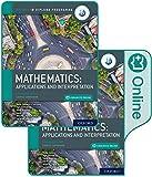 Oxford IB Diploma Programme: IB Mathematics: applications and interpretation, Standard Level, Print and Enhanced Online Course Book Pack (English B for Ib Diploma Programme)