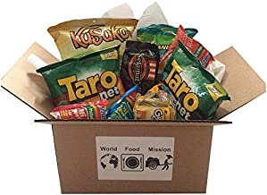 World Food Mission Classic Indonesian Snacks Box (9 counts Total)
