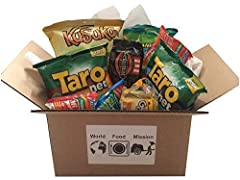 Variety Pack contains 9 different individually wrapped full size Indonesian snacks that you can carry on the go or share with friends. Delight the taste buds of friends, family and co-workers and celebrate diversity with these Asian Snacks. This inte...