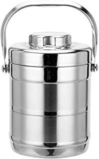 WCHCJ Vacuum Insulated Stainless Steel Food Jar,Portable Soup Thermos, Hot or Cold Food Jar (Size : 1.5L)