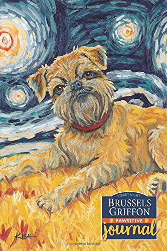 Brussels Griffon Pawsitive Journal: Lined Gratitude Journal for Dog Lovers