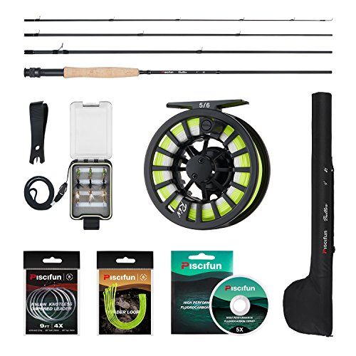 Best 5wt Fly Fishing Rod and Reel Combo for Beginners