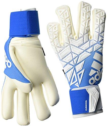 adidas Herren ACE Trans Torwarthandschuhe, White/Bright Blue, 10