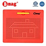 Magnetic Drawing Board Free Play Doodle Drawing Board Tablet Pad with Stylus Learning Writing STEM Travel Toy for Toddler Kids
