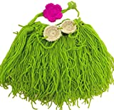 Aoyo Bebé Crochet Leche Hilo de algodón Hawaii Grass Skirt Equipos de Fotos...
