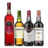 Kit Com 4 Vinhos Do Porto - Martha'S Wine