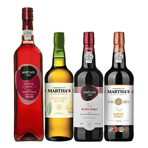 Kit Com 4 Vinhos Do Porto - Martha'S Wine