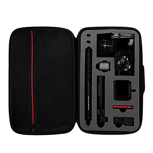 Carrying Case for Insta360 ONE R Camera, Case for Insta 360 ONE R Twin Edition 4k Wide Angle Camera Portable Storage Bag Accessories