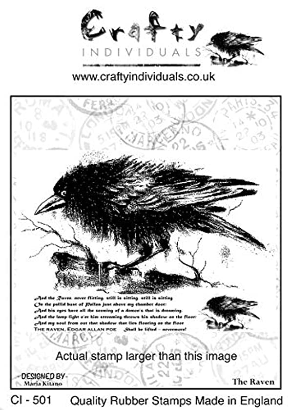Crafty Individuals CI-501 Unmounted Rubber Stamp 5.39