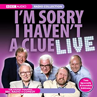 I'm Sorry I Haven't a Clue Live cover art