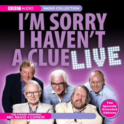 I'm Sorry I Haven't a Clue Live audiobook cover art