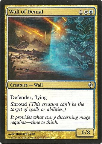 Magic: The Gathering – Wall of leugnen – Duel Decks: Venser VS Koth von Magic: The Gathering