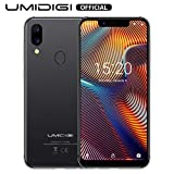 UMIDIGI A3 Pro GSM Unlocked Cell Phones 3GB+32GB(Expandable Storage to 256G) 5.7' inch 19:9 Full-Screen Display 12MP + 5MP Dual Camera Global Band Dual 4G LTE 2 + 1 Card Slots Android 9.0(Gray)
