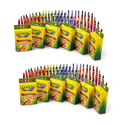 24 Count Crayons (12-Pack)