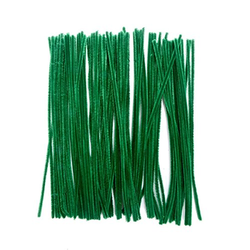 Saim Pipe Cleaners Chenille Stems 12' for Creative Handmade Arts and Crafts, Pack of 100