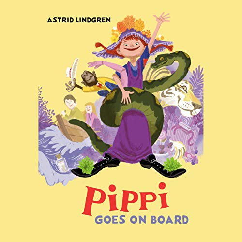 Pippi Goes on Board cover art