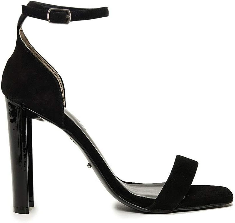 Tony Bianco Bianco Bianco Star kvinnor Sandaler mocka Open Toe Sandal med böjda hälar  Specialerbjudande