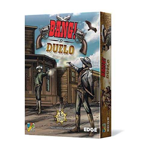 Edge Entertainment Bang-El Duelo, Juego de Cartas EEDVBU01 (EDGBA30)