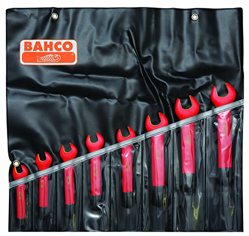 BAHCO(バーコ) Insulated Open End Spanner 1000V絶縁片口スパナセット 6MV/8T