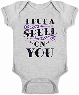 I Put A Spell On You Halloween Movie Quote Hex Infant Bodysuit