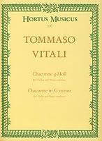 VITALI - Chacona en Sol menor para Violin y Piano (Hellmann)