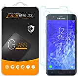 (2 Pack) Supershieldz for Samsung (Galaxy J7 Crown) Tempered Glass Screen Protector, Anti Scratch, Bubble Free