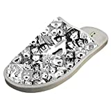 JJZZA Adult Cool Design House Slippers,Ahegao Hentai Girls Anime Printing Home shoes/Cotton slippers 11 B(M) US
