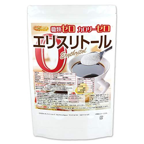 エリスリトール(erythritol) 2.5kg 糖類ゼロ カロリーゼロ 希少糖 天然甘味料 糖質制限 砂糖代替甘味料 NICHIGA(ニチガ) [02]