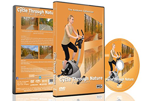 Cycle Through Nature - Fall Colours - For Indoor Cycling, Treadmill and Running Workouts