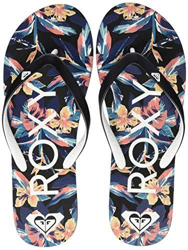 Roxy Tahiti, Zapatos de Playa y Piscina para Mujer, Negro Black, 40 EU