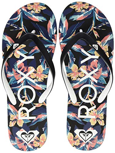 Roxy Tahiti, Zapatos de Playa y Piscina para Mujer, Negro