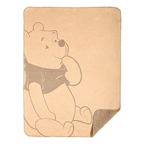 Disney par Julius Zöllner Jacquard couverture - tissé - 75x100 cm - Smiley Pooh