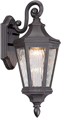 2021 Minka online sale Lavery online sale 71821-143-L Hanford Point LED Outdoor Lantern, Oil Rubbed Bronze Finish outlet online sale