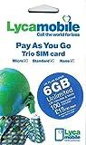 Best International Sim Cards - PrePaid Europe (UK Lycamobile) 30 Days 6GB SIM Review