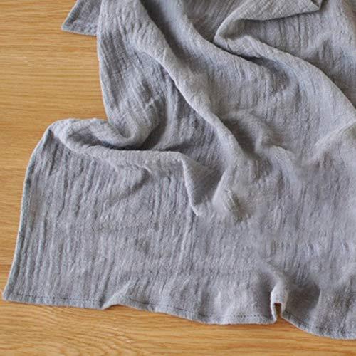 45 * 65cm sólido simple toallas de algodón Mat paño de