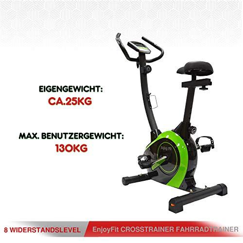 EnjoyFit Heimtrainer Fahrradtrainer Bild 5*
