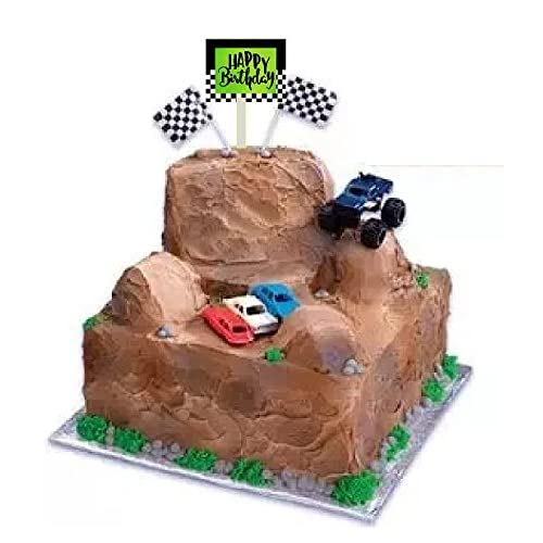 Excellent Monster Truck Cake Amazon Com Funny Birthday Cards Online Elaedamsfinfo