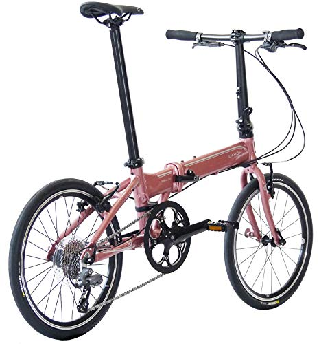 DAHONINTERNATIONAL(ダホンインターナショナル)VitesseD8モデルフォールディングバイク20インチ2020[外装8段変速アルミフレーム]KMA082ピンクコーラル20型
