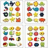 BLOUR Lustige 1Pack 12Pcs Baby Kinder Küche Holz Cartoon Tier Kühlschrank Magnet Schöne Kind dekorative pädagogische Spielzeug Geschenke Set